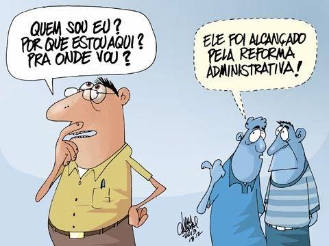 """GOVERNO FALA EM REFORMA ADMINISTRATIVA SEM SABER O QUE ISSO SIGNIFICA. """"A equipe econômica do governo Dilma Rousseff, na impossibilidade de reimplantar a CPMF, sob novo codinome, agora fala vagamente em reforma administrativa que incluiria a venda de imóveis da União."""""""