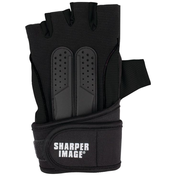 New Arrival: Sharper Image Fitness Gloves With Wrist Support (l And Xl