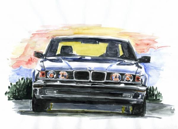 BMW 7 E32 :-)