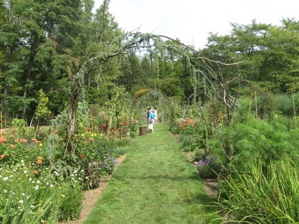 Why Pathways Are Such A Compelling Element In The Garden - Chanticleer Cutting Garden