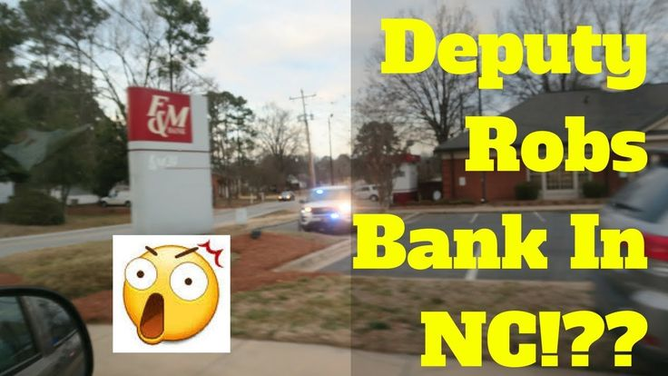 Davidson County Deputy Accused of Robbing A Bank In Rockwell, NC | Exclusive details and commentary  https://www.youtube.com/watch?v=r71tTcPO0wM