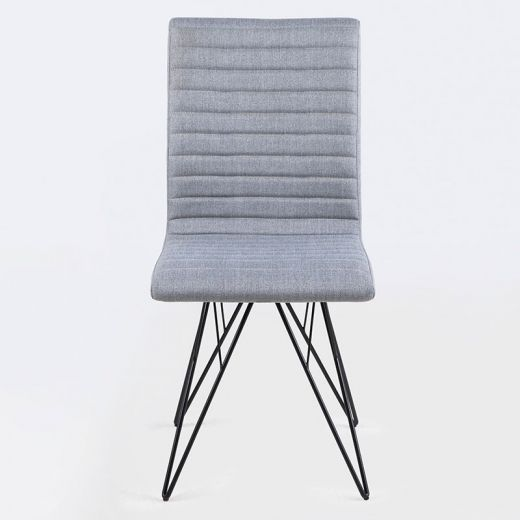 Jídelní židle s kovovou podnoží Salvo (SET 2 ks) - 1