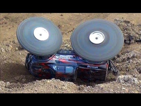 RC ADVENTURES - BOOM! HPI SAVAGE FLUX HP 4WD MT - 6S LiPO - SHREDDiNG PURE POWER