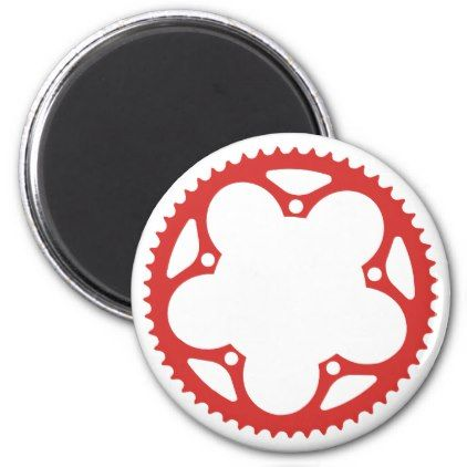 #Chain Ring Magnet - #cycling #gifts