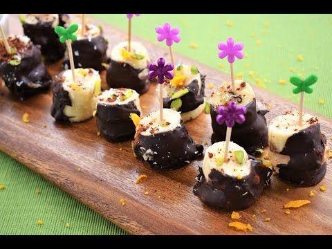 Nutellalı, fındık ezmeli muzlu atıştırmalık nasıl yapılır? / How to prepaer snack with NUTELLA - YouTube