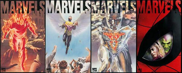'Marvels' by Kurt Busiek and Alex Ross