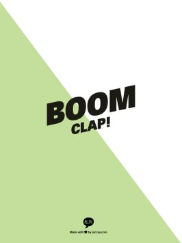 Boom clap by charli xcx telly biscuits