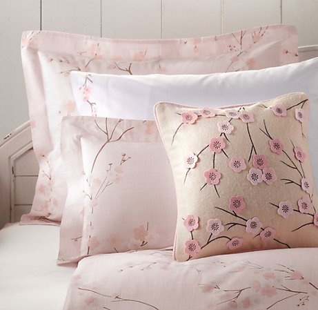 Cherry Blossom Bedding Collection | Bedding Collections | Restoration Hardware Baby & Child