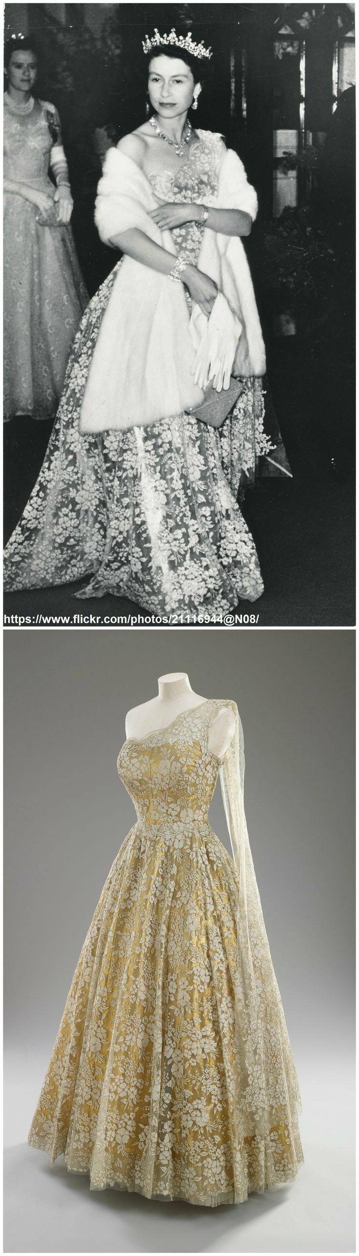 Best 20 norman hartnell ideas on pinterest queen for Wedding dresses norman ok