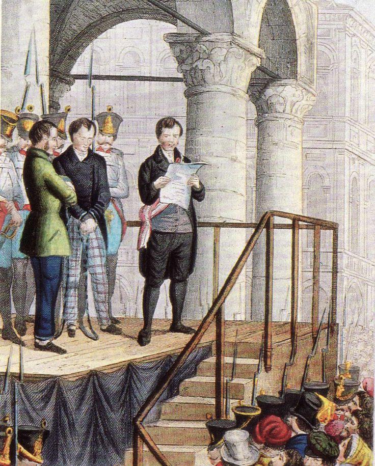 I processi milanesi del 1820-1823