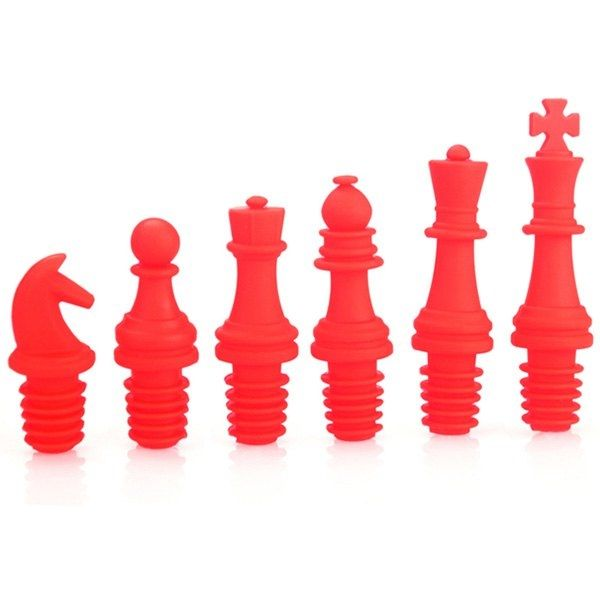 8.29$  Buy here - http://dixgu.justgood.pw/go.php?t=200704101 - 6PCS Environmental Silica Chess Shape Wine Bottle Plugger 8.29$