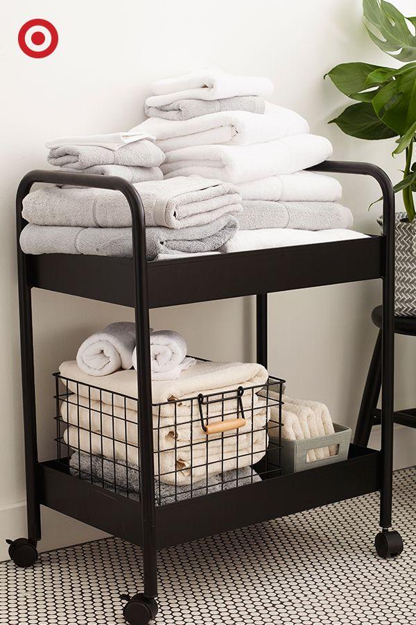42 Best Dorm Ideas Images On Pinterest Beauteous Small Bathroom Cart Inspiration Design