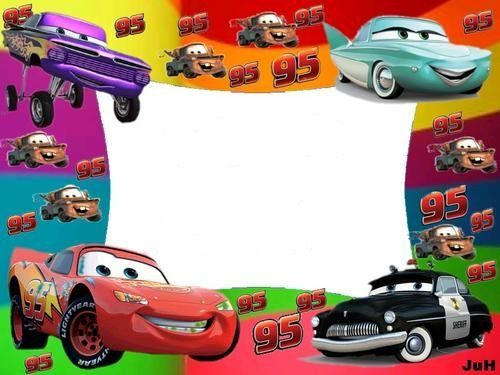 Disney Cars Frame - save our oceans