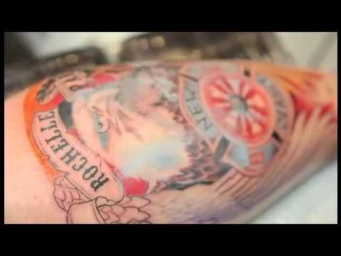 Mario Barth giving some Tips on Tattooing - Intenze Tattoo Ink - Painful...