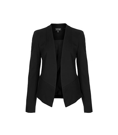 @Who What Wear - A sleek black blazer like this one is one purchase you'll never regret.  Topshop Slim Fit Tailored Blazer ($90)