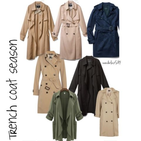 Trench coats are my favourite accessory for the spring, check out my new blogpost up now!