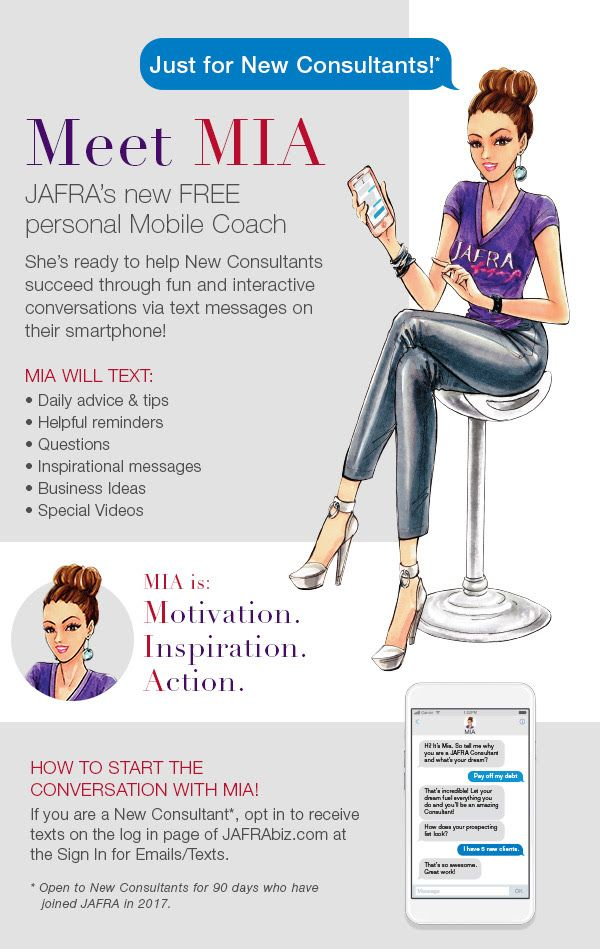 No better time to become a Jafra Consultant!  832-484-8306