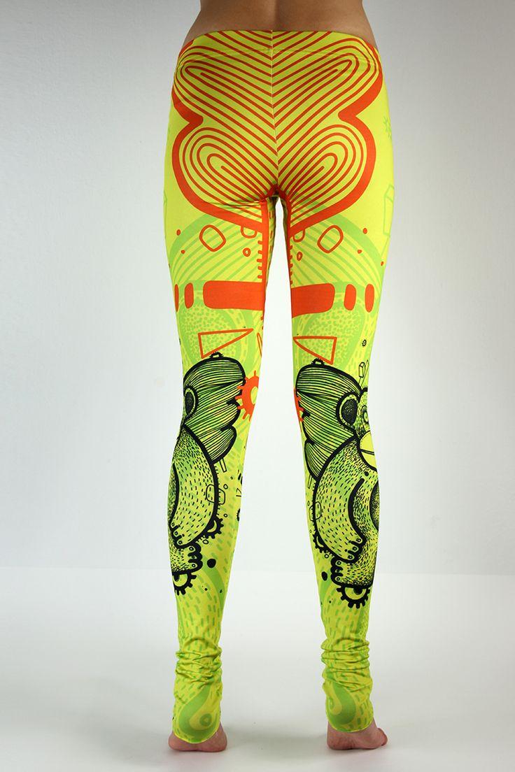 #FRIFRU #LABELSSHOP #leggins #yellow