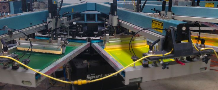 Automatic Machine for volume printing