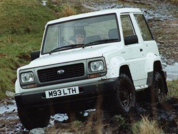 Daihatsu Fourtrak Independent '1993–99
