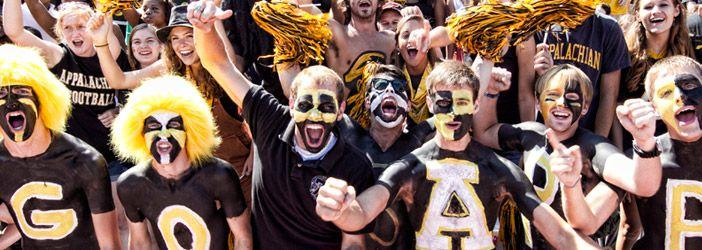 Appalachian State University :: football fans