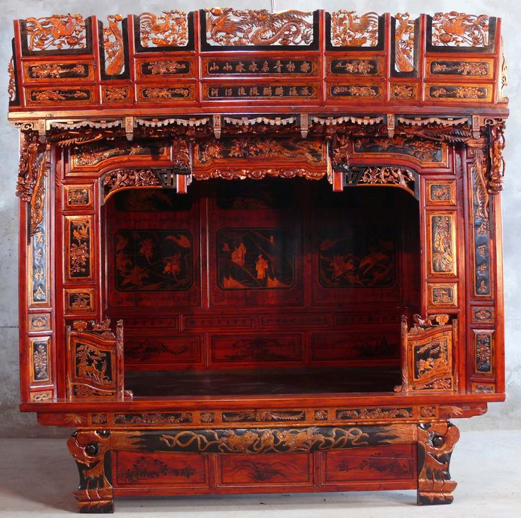 Chinese beds chinese traditional beds asian furniture for Asian furniture dc