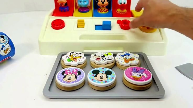 Mickey Mouse Disney Clubhouse Cookies Playset Toys for Kids