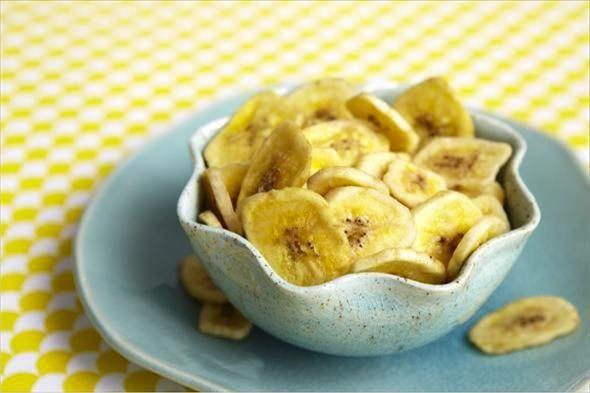 Baked Banana Chips Recipe