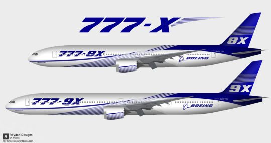 Boeing 777-X family