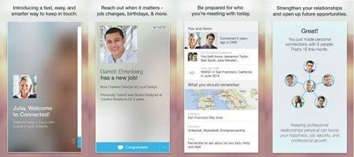 Το #LinkedIn κυκλοφόρησε το Connected app ως ανανέωση του Contacts app  http://www.mediasystems.gr/to-linkedin-kukloforise-to-connected-app-ws-ananewsi-tou-contacts-app/