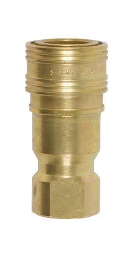 "Quick Connect Supply Side 1/2"" Female Brass Coupling Disconnect For Propane / Natural Gas - Supply Side"