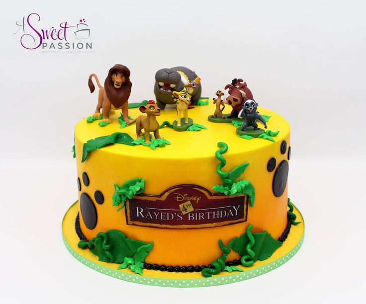 Lion Guard / Lion King Cake www.asweetpassion.com
