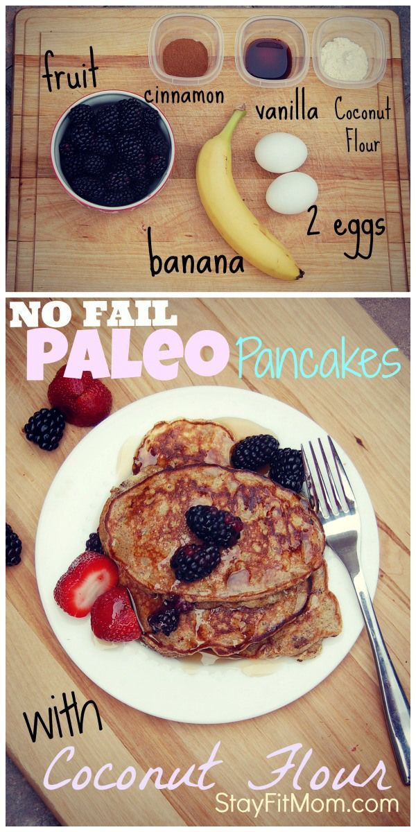 Finally egg-banana pancakes that will flip without a mess!!