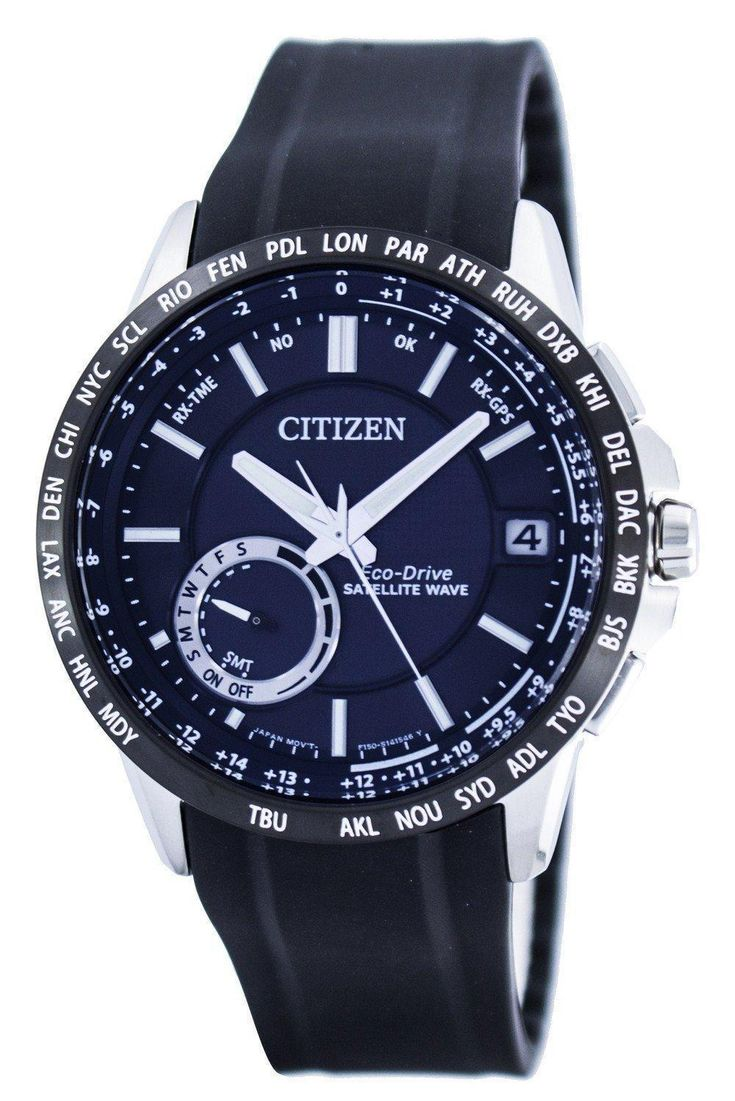 Citizen Eco-drive Satellite Wave Gps World Time Power Reserve Cc3005-18e Men's Watch (FREE Shipping)