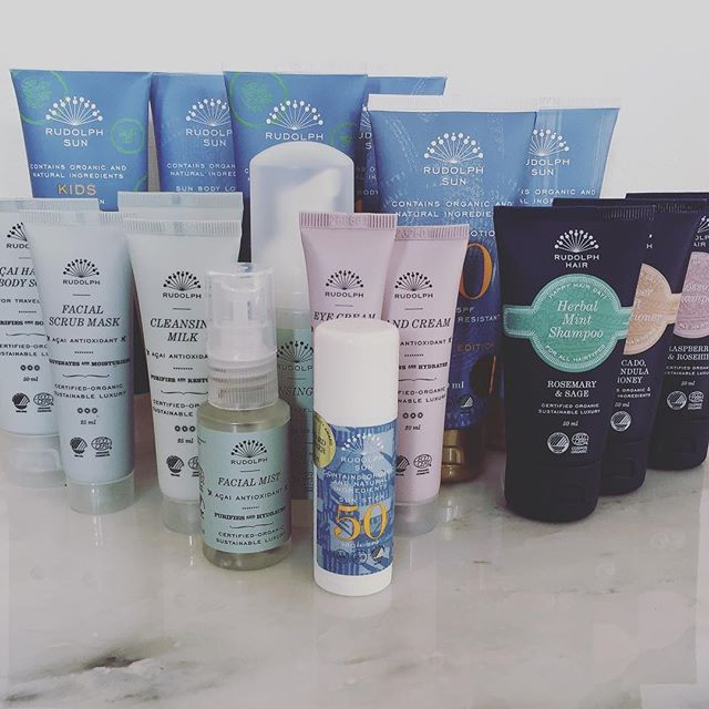 Rudolph Care travel essentials  #travelfriends #travel #essentials #organic #certified #skincare #rudolphsun #rudolphhair #rudolphcare