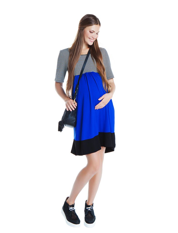 MATERNITY PERFECT! Celine color block tunic dress available NOW!!! www.nanarisematernity.com Beautiful maternity clothes from nanarise maternity!!! Natural fabrics and cool modern designs for all moms to -be!!!
