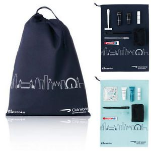 The amenity kit - now there is a male and female version, which makes perfect sense as we have different needs. (My Flight: British Airways Club World - London to New York)