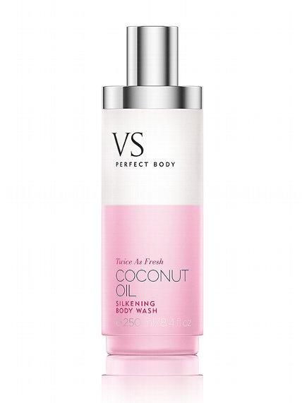 coconut oil - silkening body wash