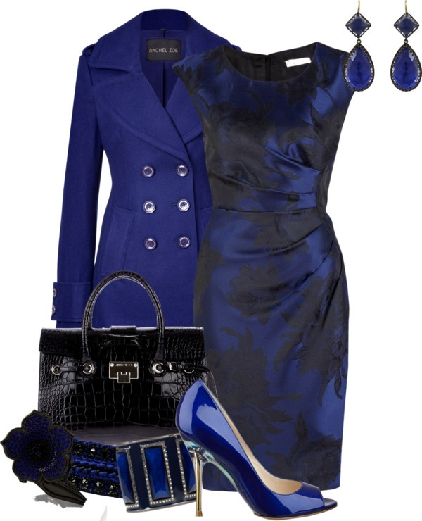 """black and blue"" by meganpearl on Polyvore (I need a boobjob so I can fit in tiny tops like this!)"