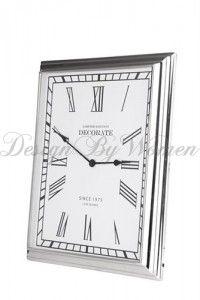 Duży zegar ścienny Lene Bjerre 48x56 cm
