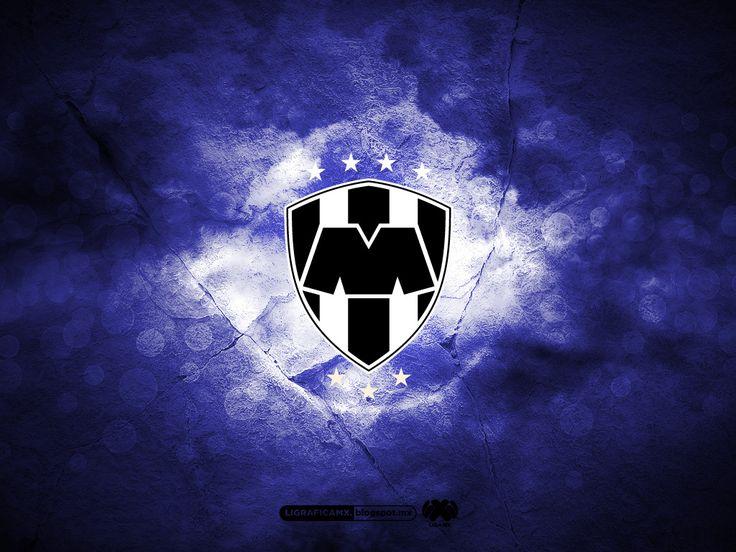 Rayados del Monterrey • Logo Blanco y Negro • #LigraficaMX ...