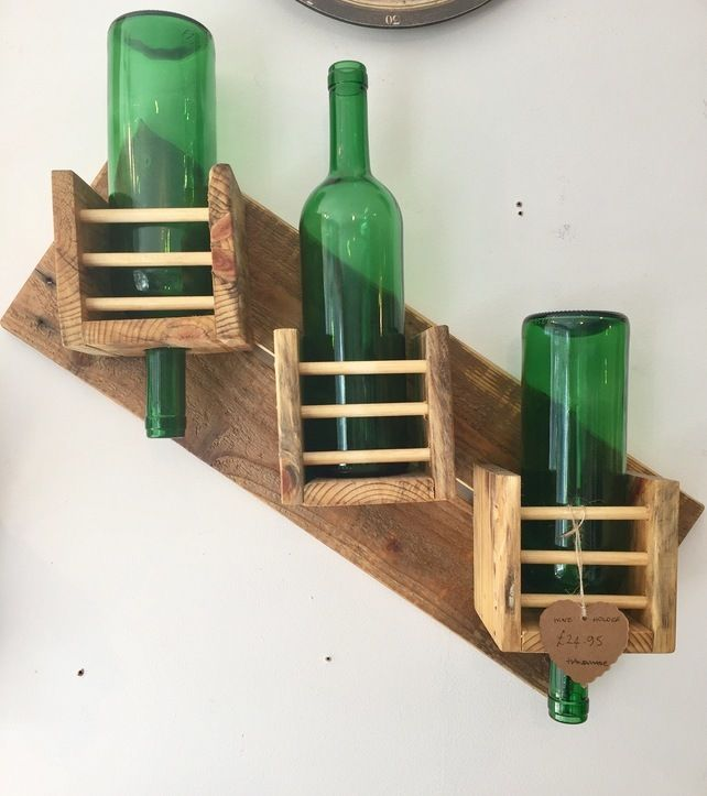 Wine rack wall mounted £24.95