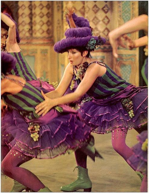 Barbra Streisand roller skating in Funny Girl by hoover's pix, via Flickr