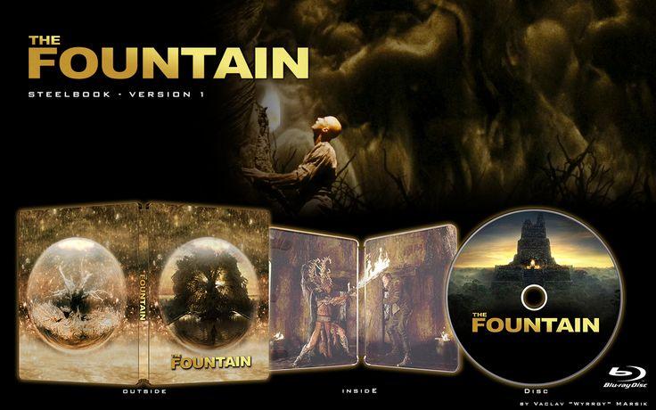 The Fountain - V1 - STEELBOOK -  Fan art