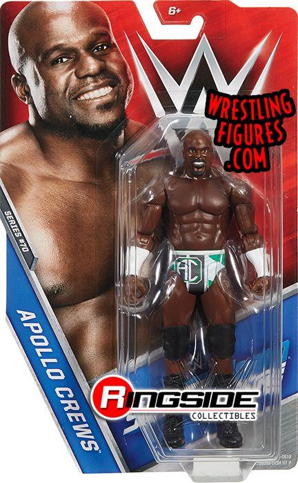 Apollo Crews - WWE Series 70 WWE Toy Wrestling Action Figure