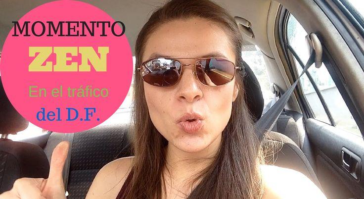 Momento ZEN en el tráfico del D.F.  Boost tu buen humor mientras viajas por el tráfico de tu ciudad! #mexicocity #mexico #trafico #humor #vlog