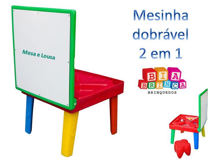 Biabrinca com novidades para espaços infantis e Escolas.