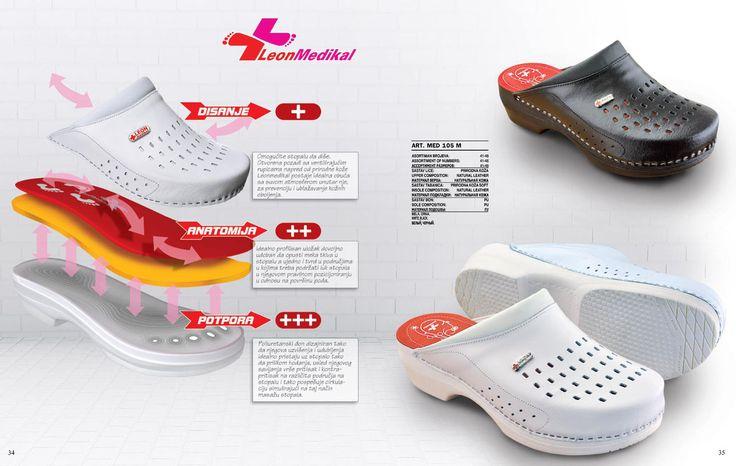 LEON медицинская обувь женская