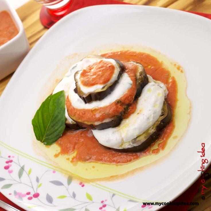 #Melanzane alla #parmigiana rivisitate,#ricetta http://www.mycookingidea.com/2013/09/melanzane-alla-parmigiana-rivisitate/