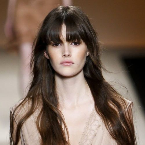 Full bangs are back for 2015 (not that they went anywhere).